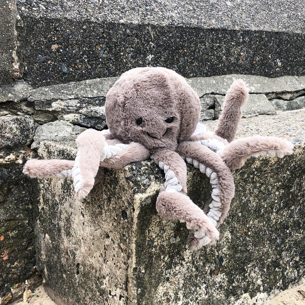 Plush Octopus Doorstop