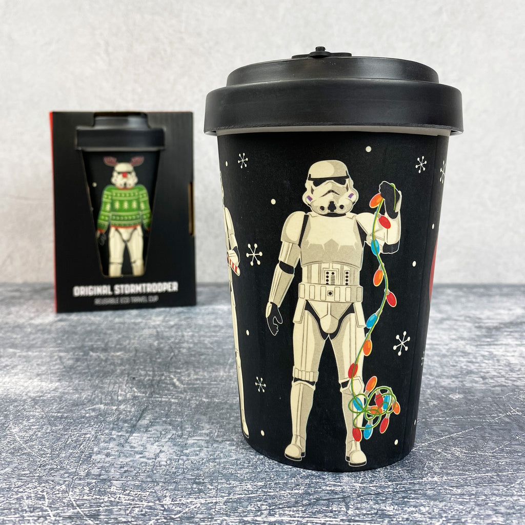 The Original Stormtrooper Christmas Reusable Travel Mug