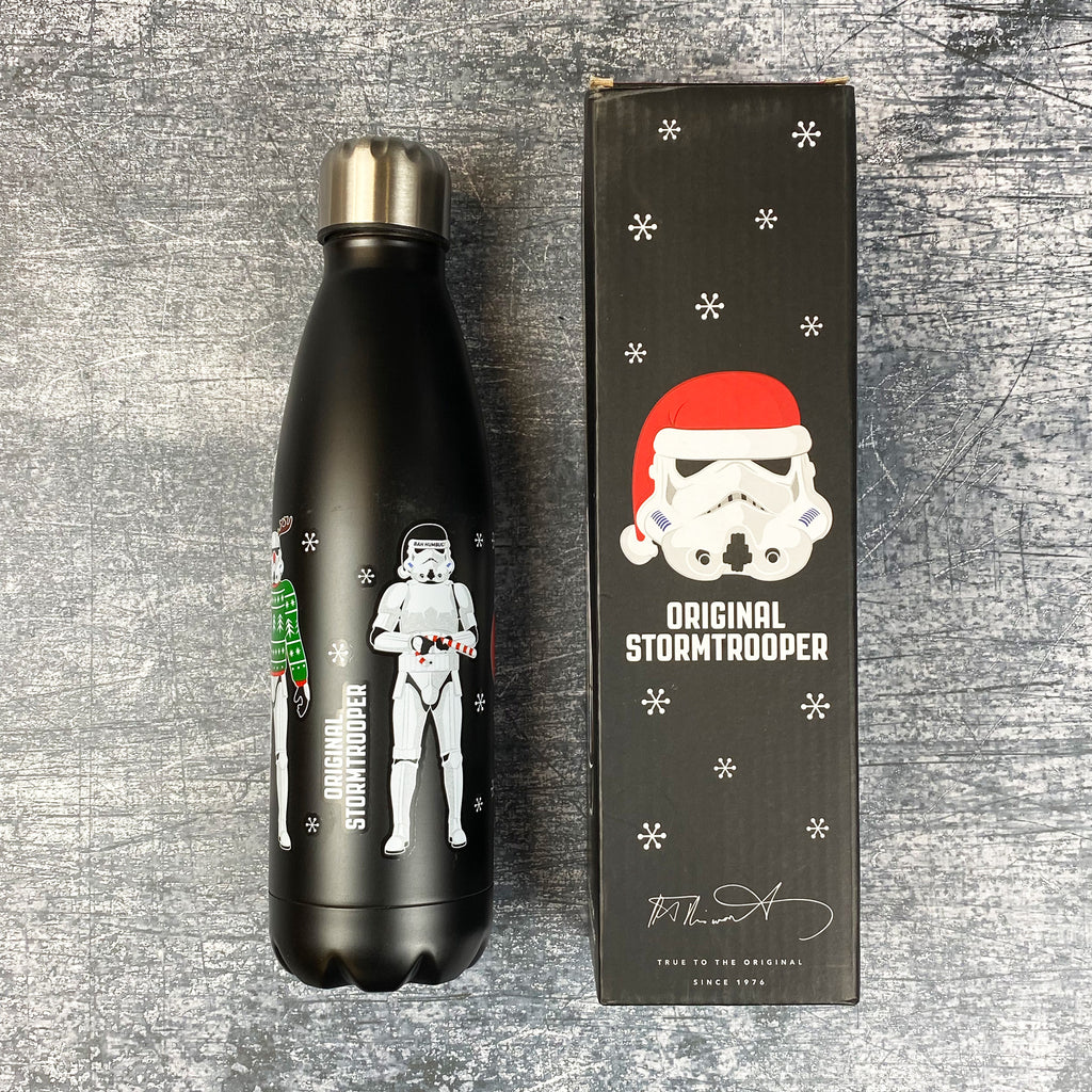 The Original Stormtrooper Christmas Reusable Stainless Steel Bottle