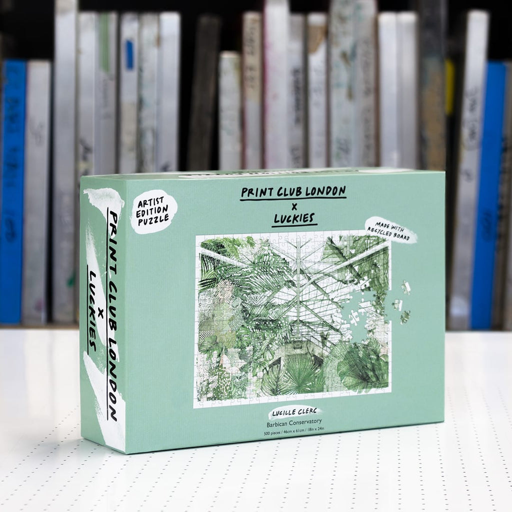 Print Club X Luckies London - Barbican Conservatory 500 Piece Puzzle