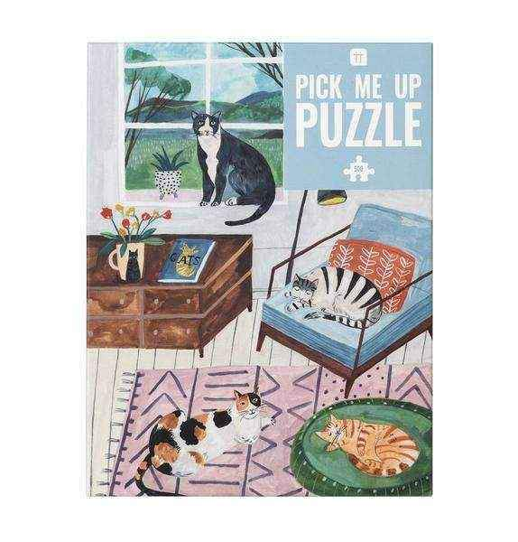 Cats Jigsaw Puzzle - 500 pieces
