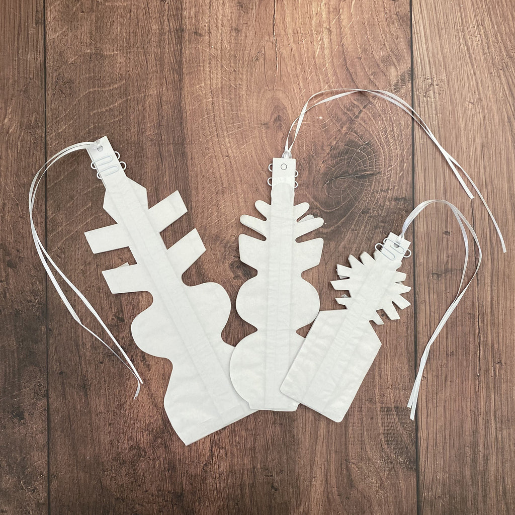 Pack of 3 Large Paper Snowflakes