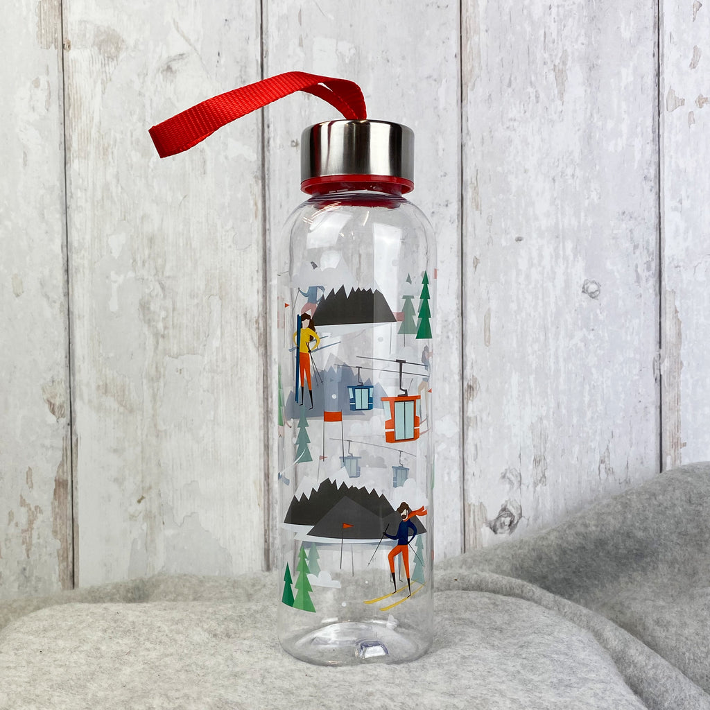 Peak Season Ski 500ml Reusable Plastic Water Bottle