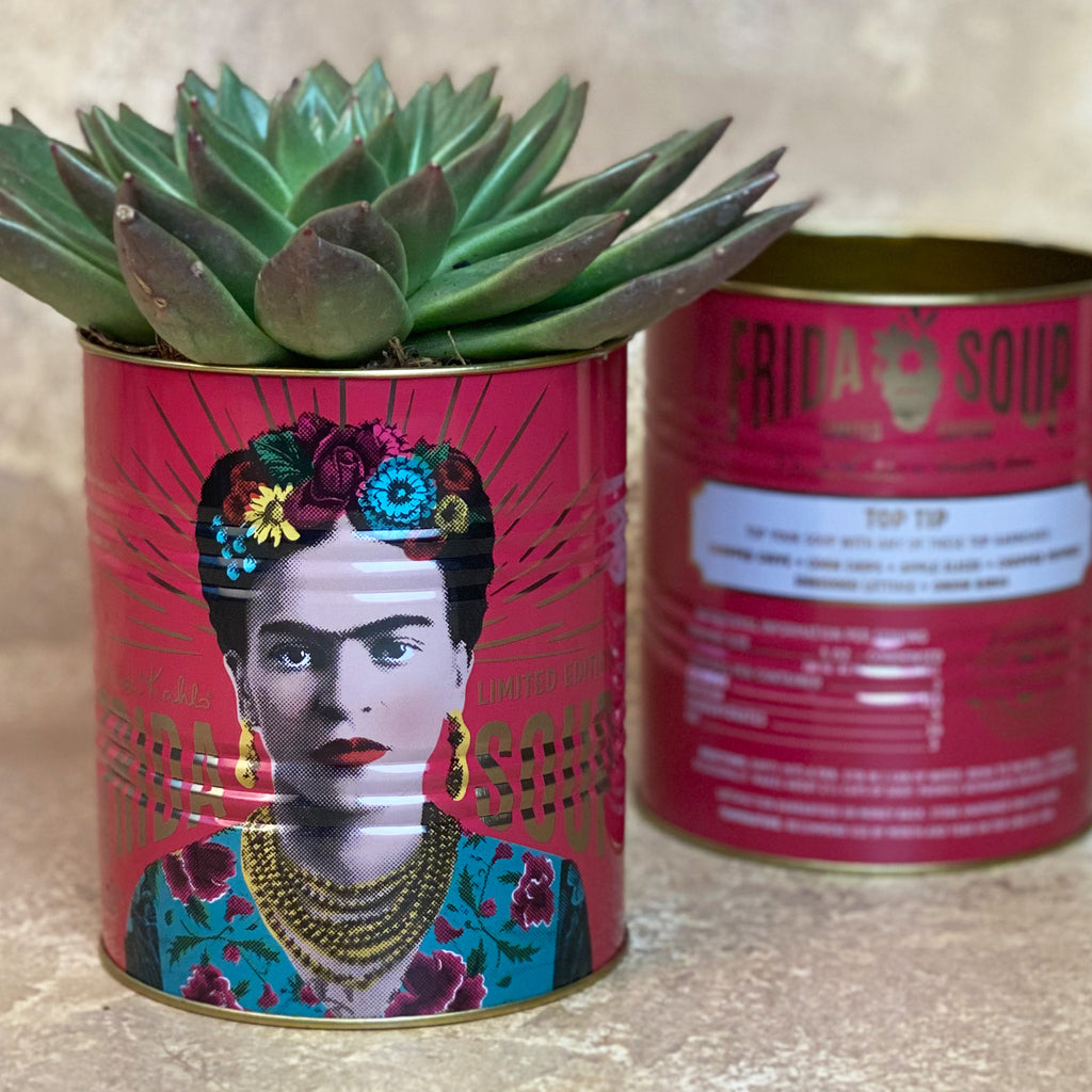 Frida Kahlo Large Pink Storage Tin