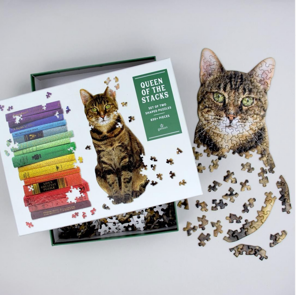 Queen of Stacks - 2 in 1 Jigsaw Puzzle