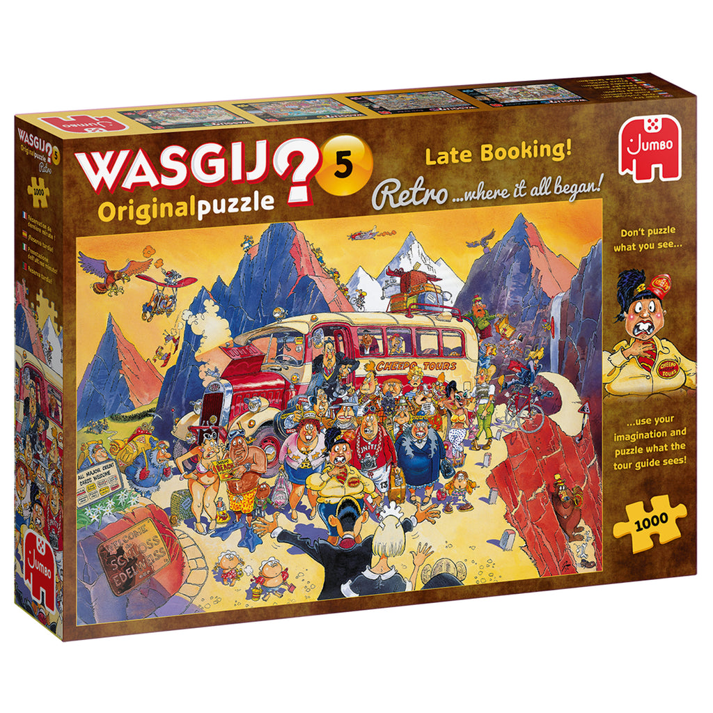 Wasgij Retro Original 5 Late Booking - 1000 Piece Puzzle