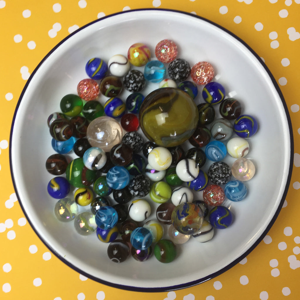 Bag of Glass Marbles
