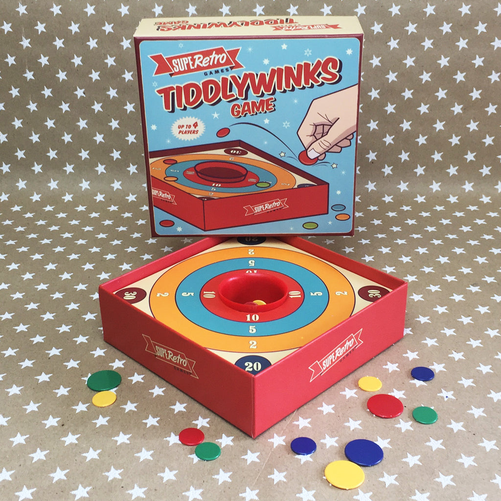 Classic Tiddlywinks Game
