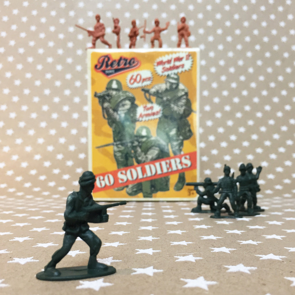 Retro Toy Soldiers