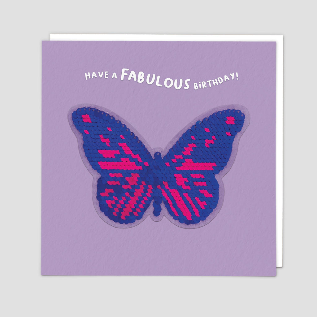 Butterfly Shine Card