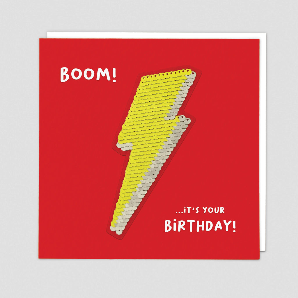 Lightning Bolt Card