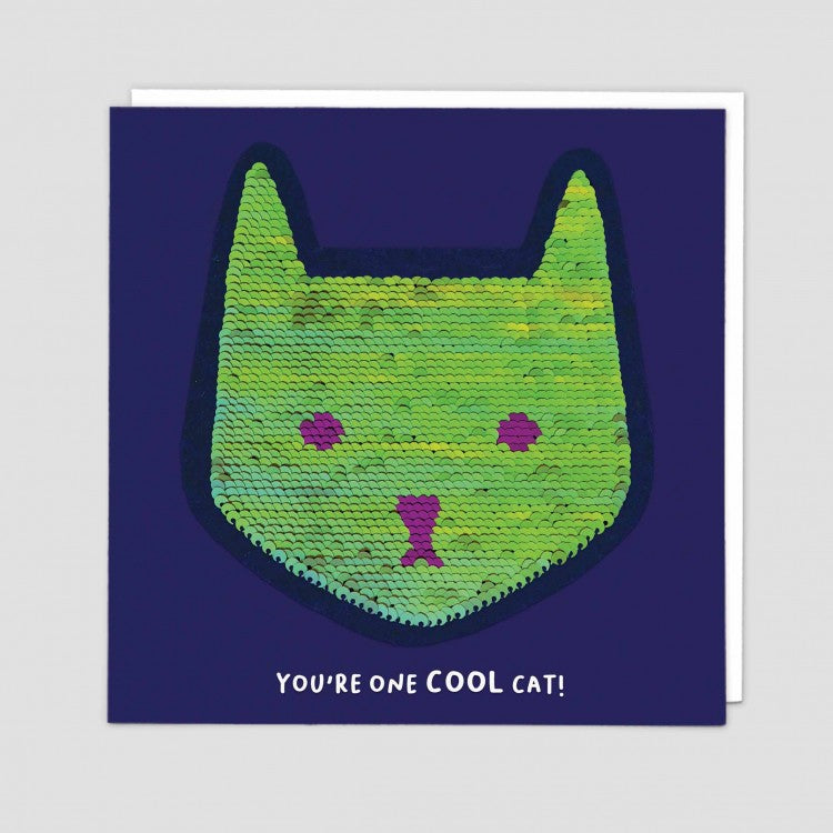 Cat Shine Card