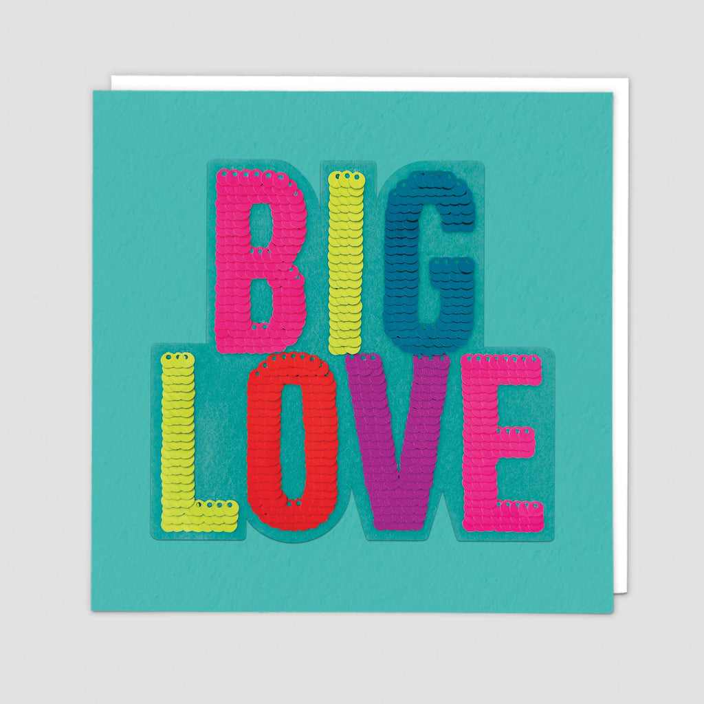 Sequin Love Shine Card