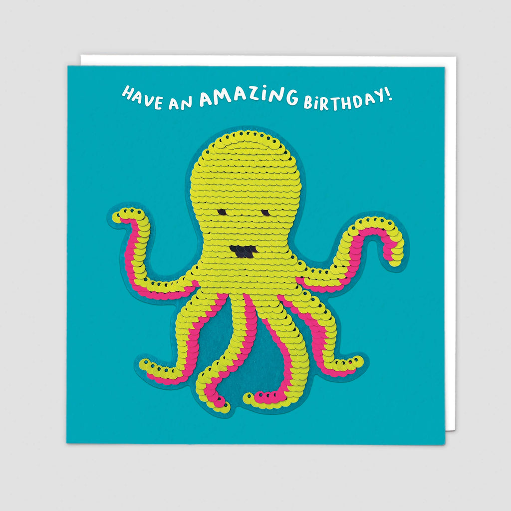 Octopus Shine Card
