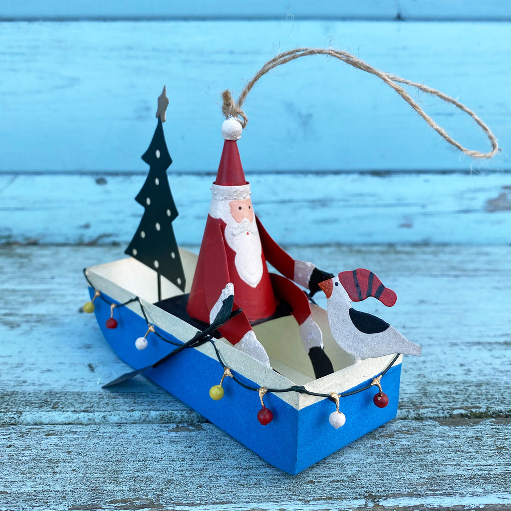 Fairy Light Boat Decoration