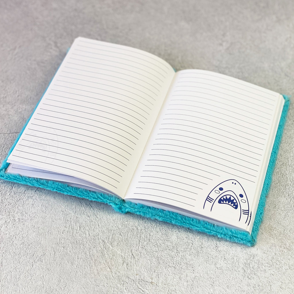 Shark Fluffies Notebook