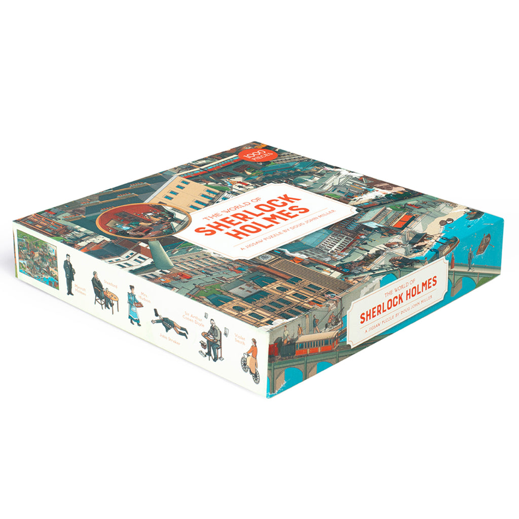 The World of Sherlock Holmes - 1000 Piece Puzzle