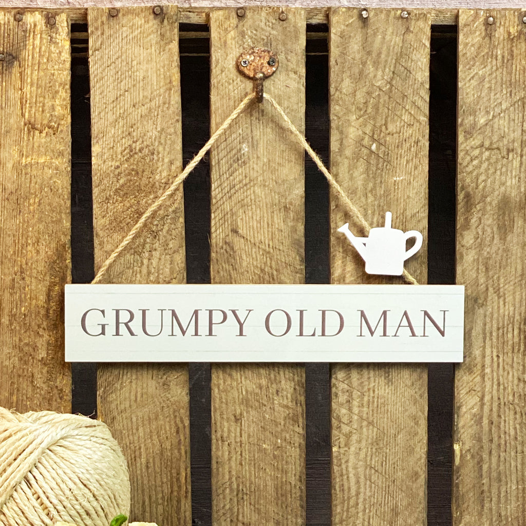 Grumpy Old Man Sign