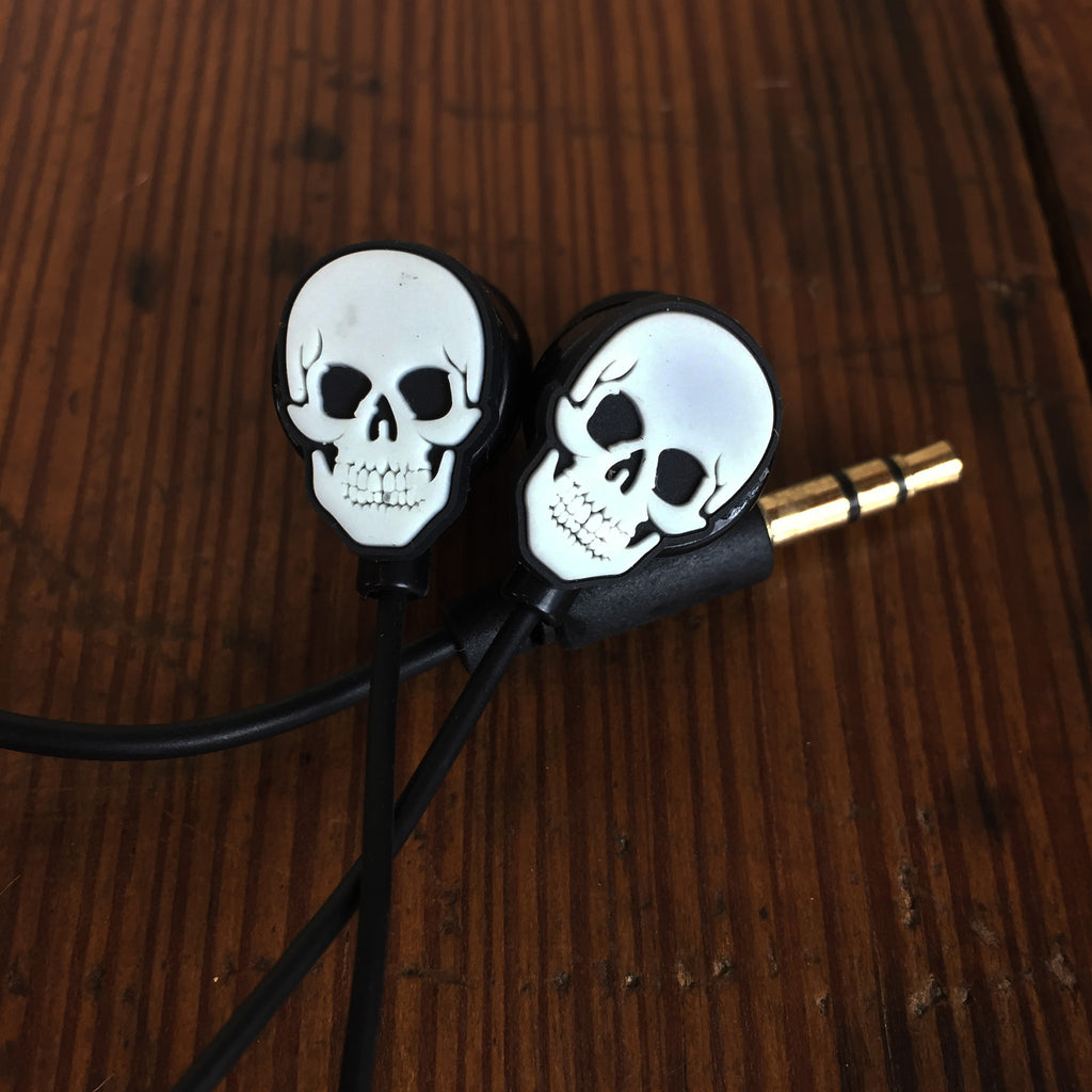Skulls and Roses Headphones