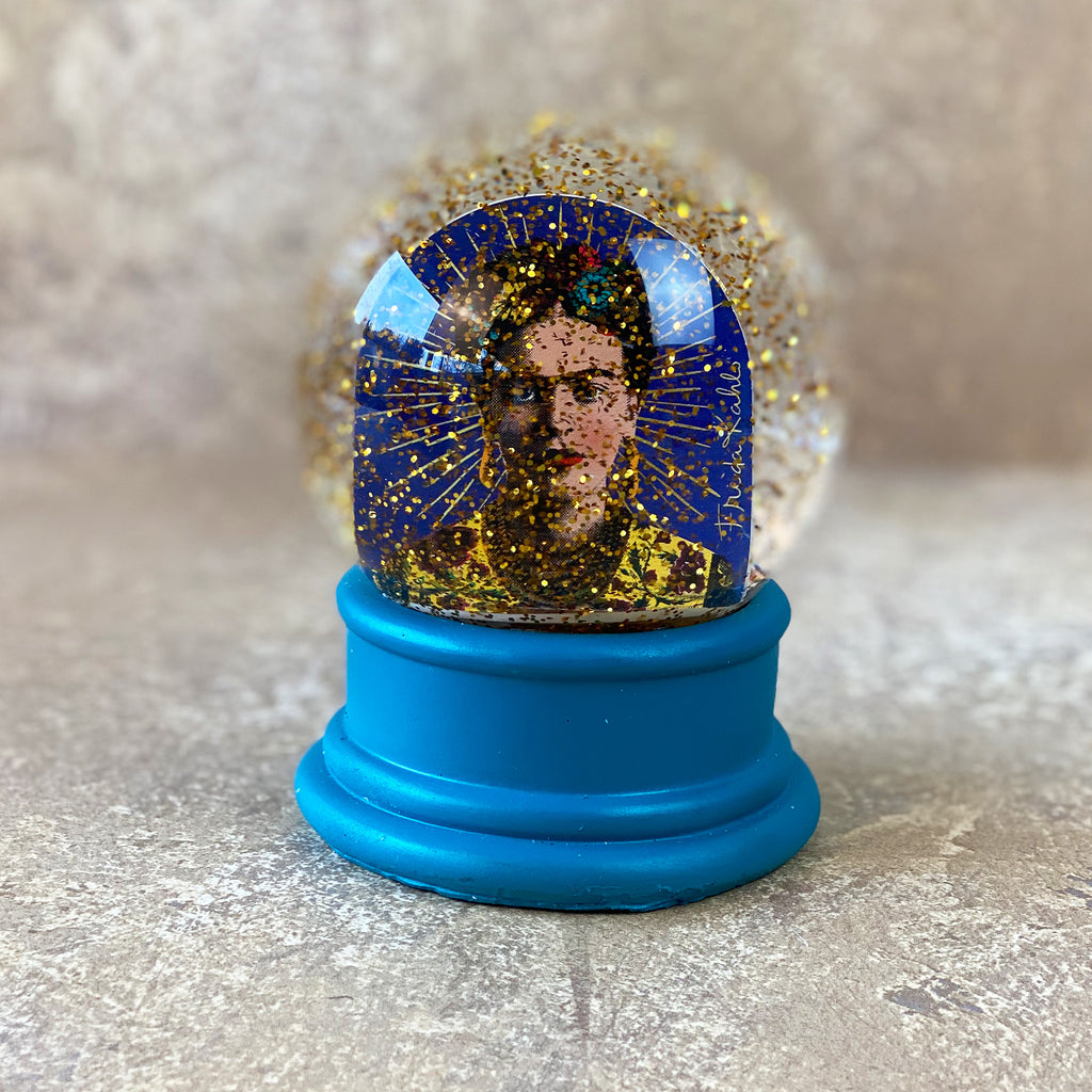 Frida Kahlo Snow Globe