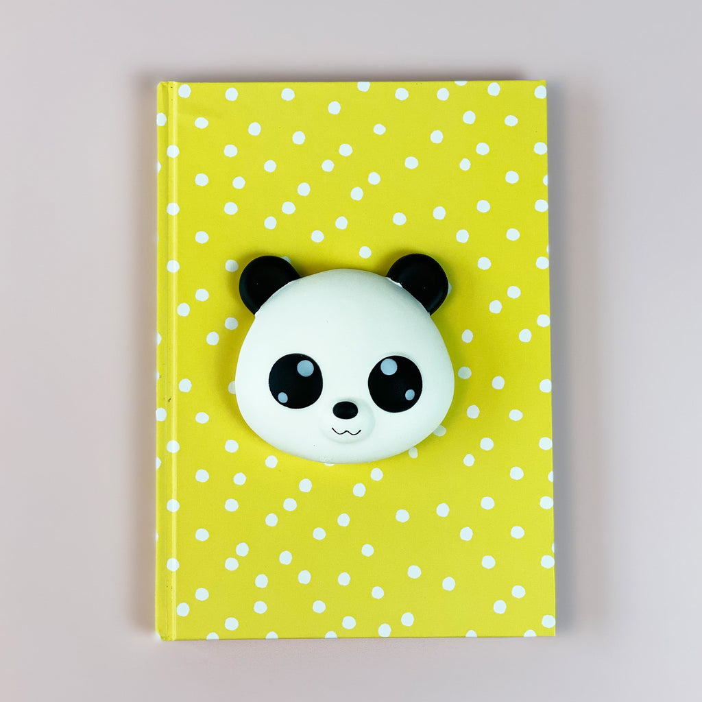 A5 Squishy Panda Notebook