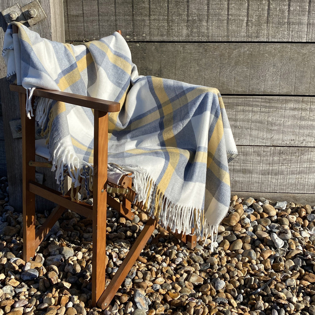 Capri Check Throw
