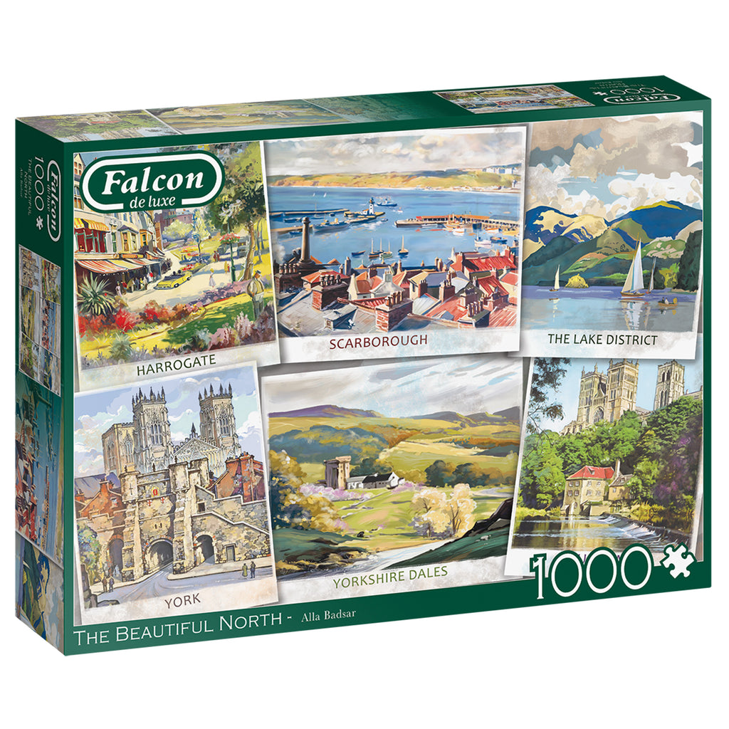 The Beautiful North 1000 Piece Puzzle
