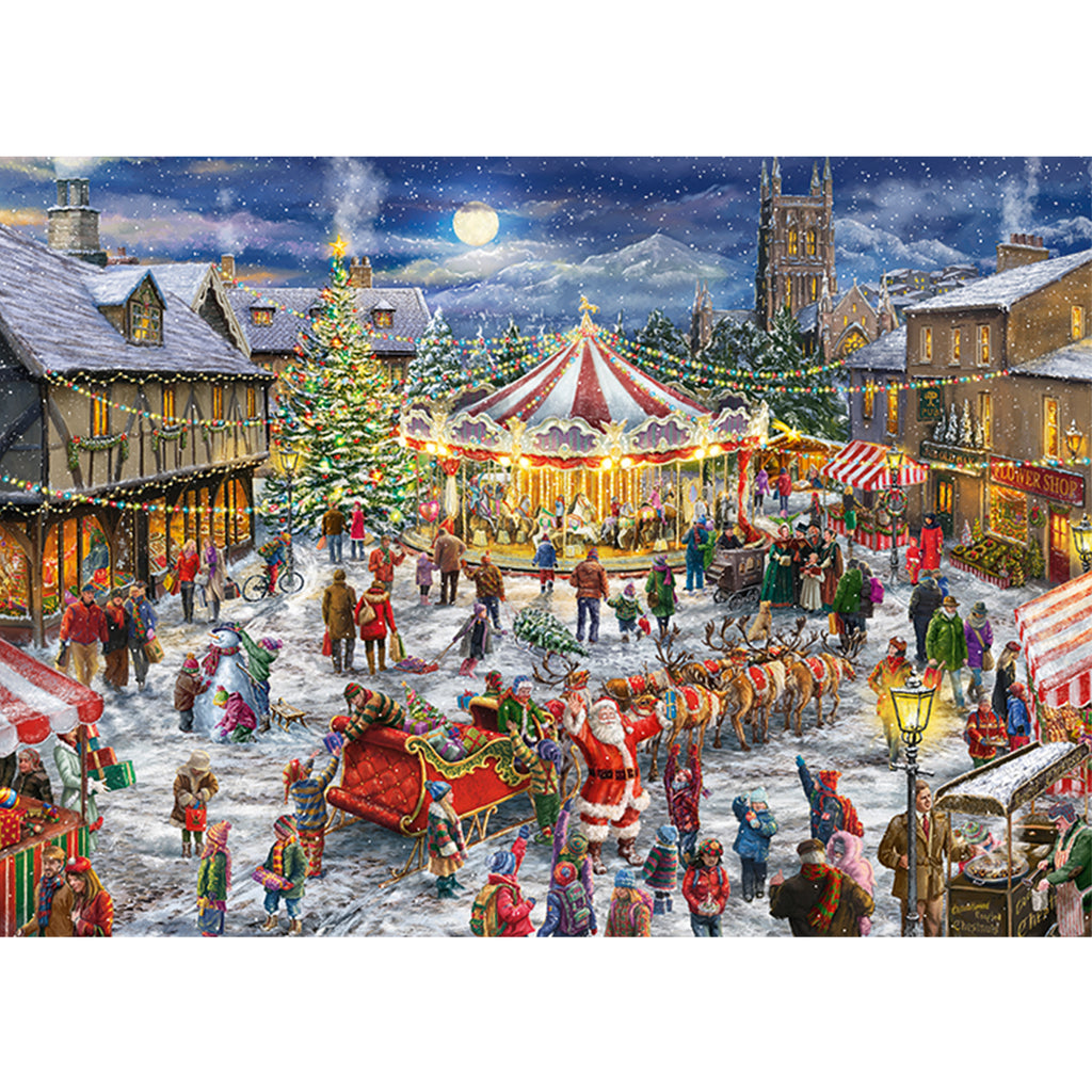 The Christmas Carousel 2 x 1000 Piece Puzzles