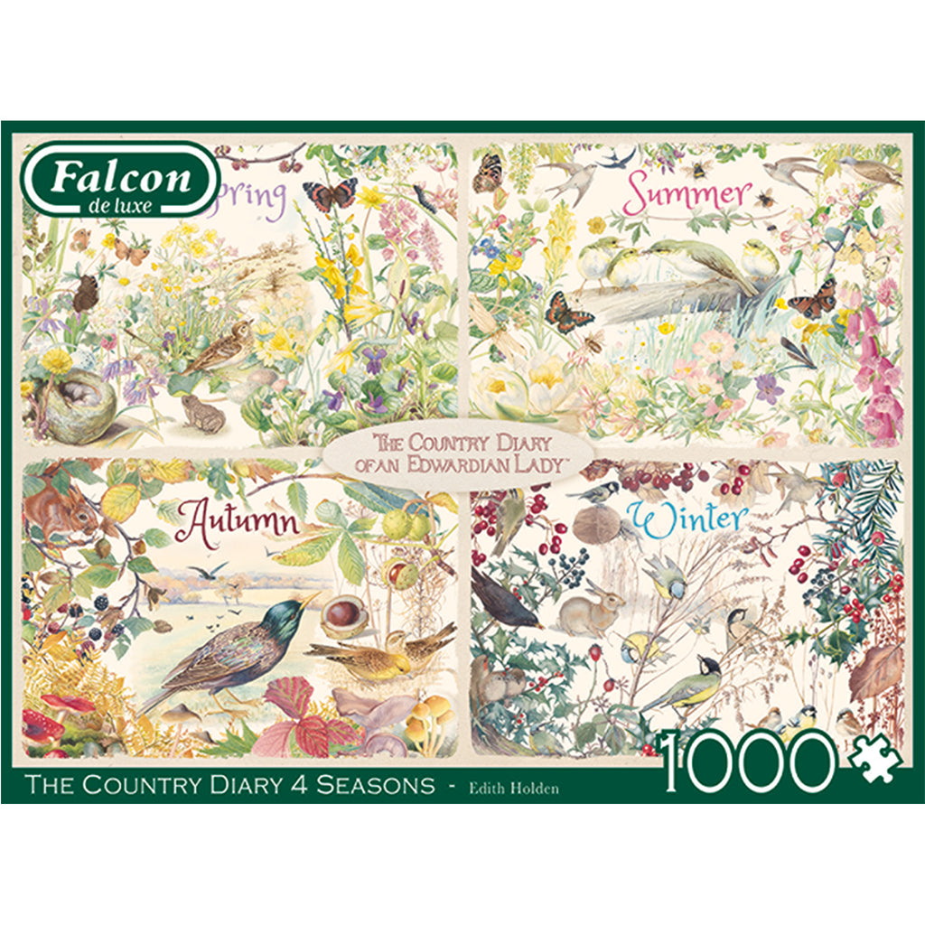 The Country Diary Four Seasons 1000 Piece Puzzles