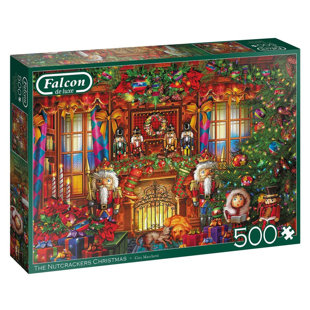 The Nutcrackers Christmas 500 Piece Puzzle