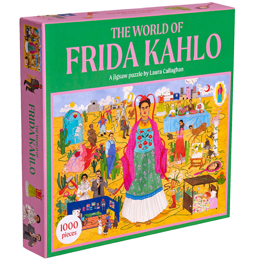 World Of Frida Kahlo - 1000 Piece Puzzle