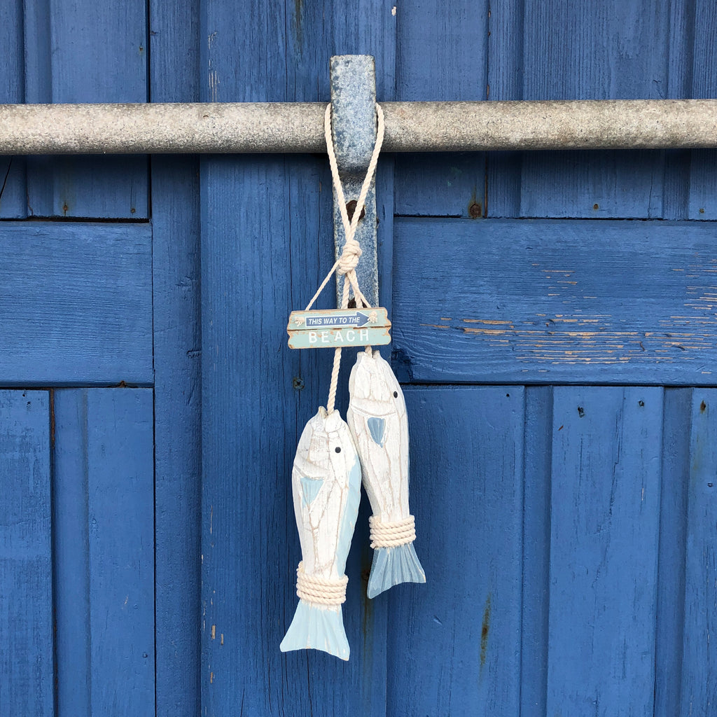 Hanging Fish 'Catch Of The Day'