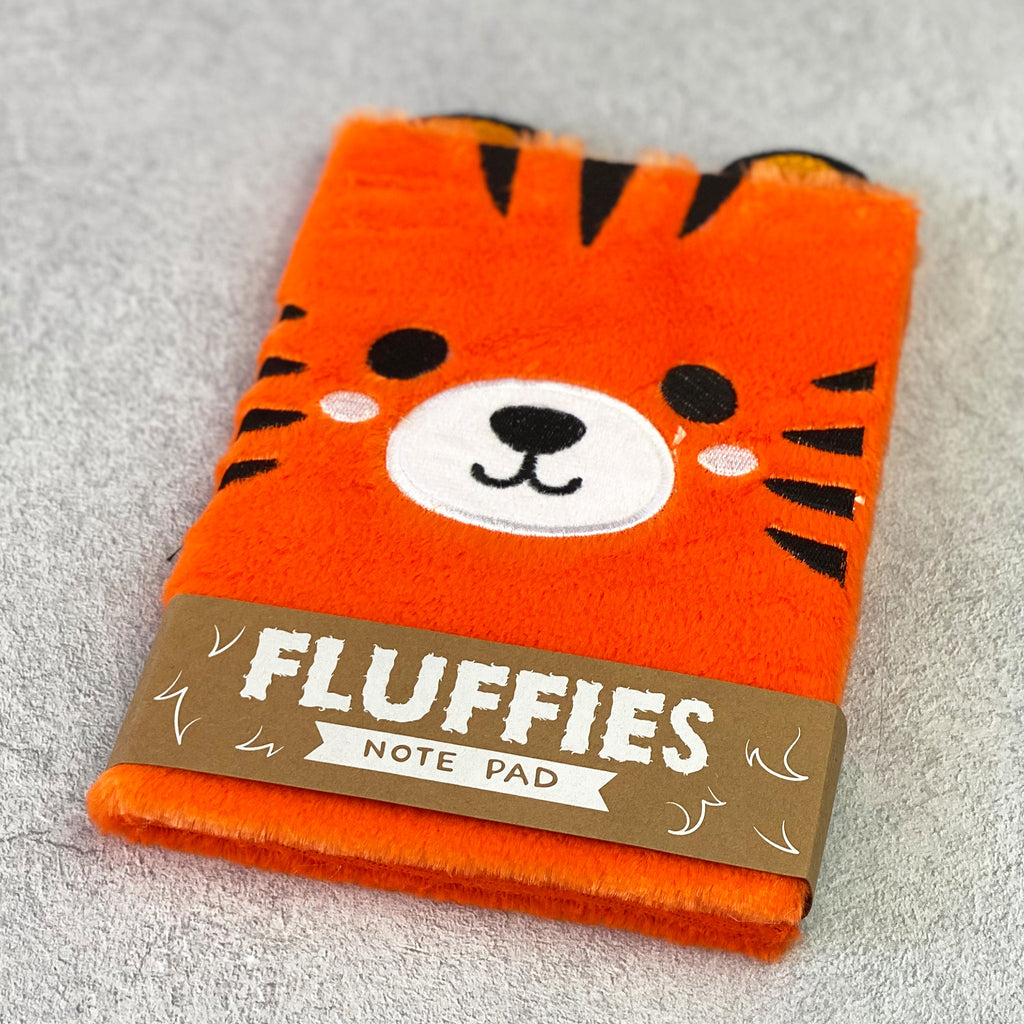 Tiger Fluffies Notebook