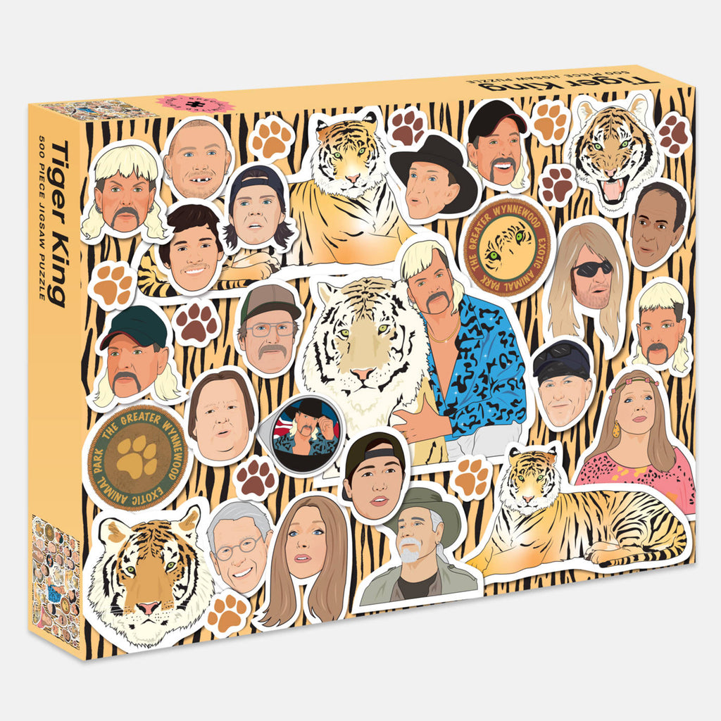 Tiger King - 500 Piece Puzzle