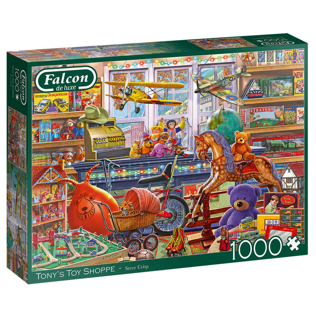 Tony's Toy Shop - Falcon de Luxe 1000 Piece Puzzle