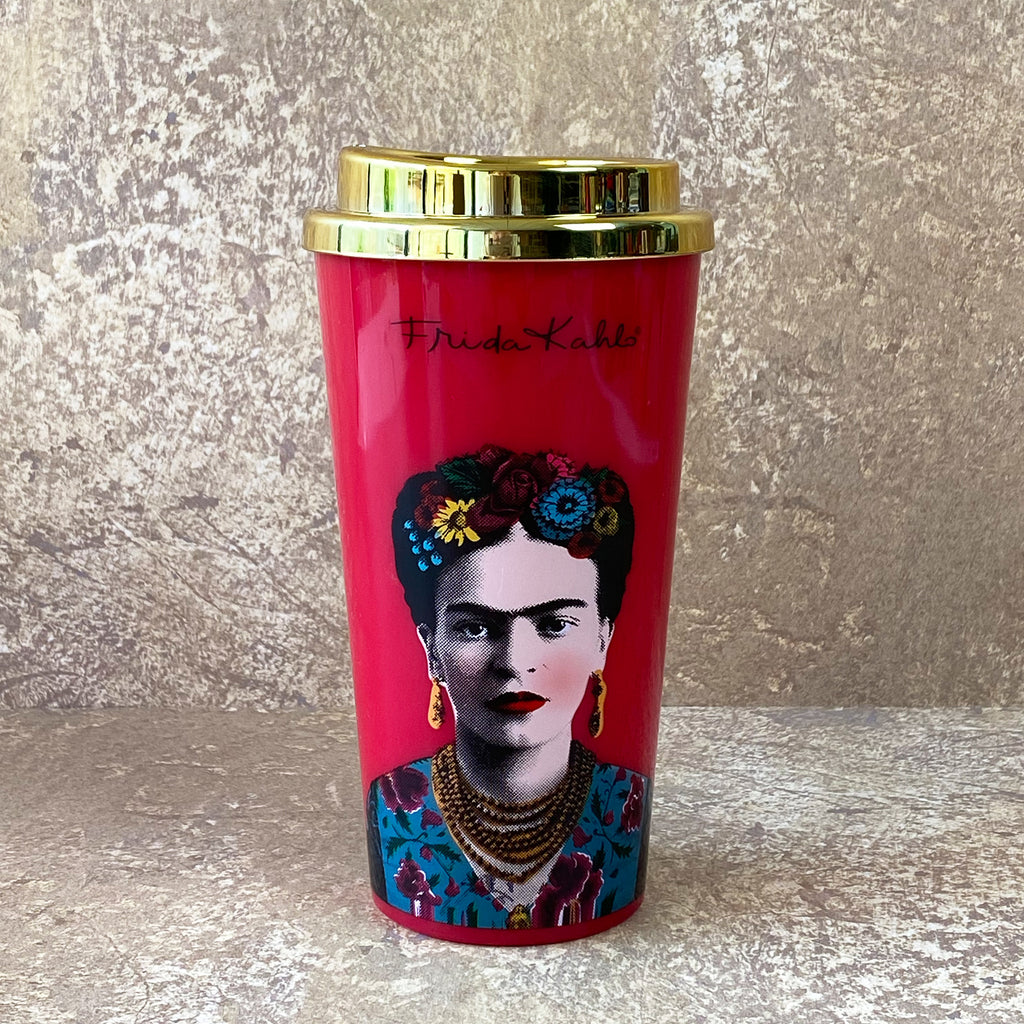 Frida Kahlo Reusable Travel Mug