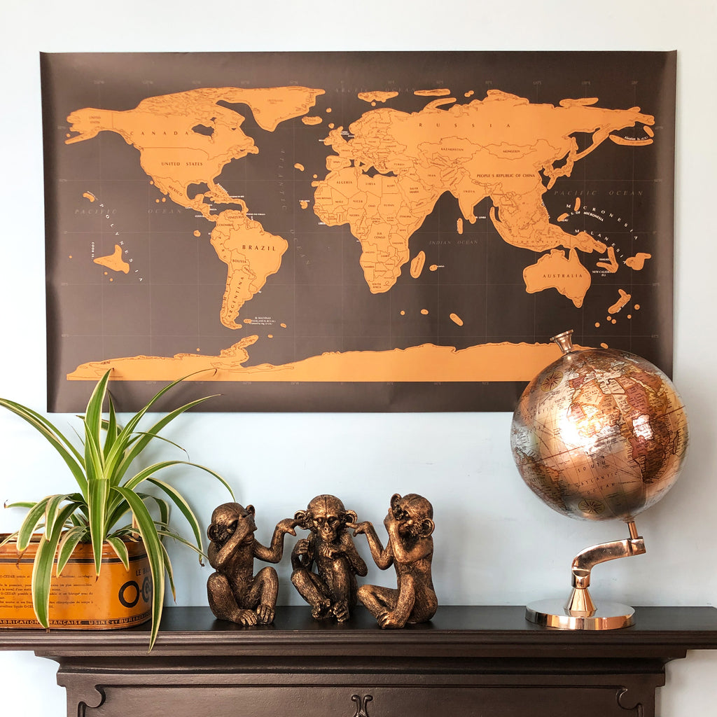 Travel Scratch Map of The World