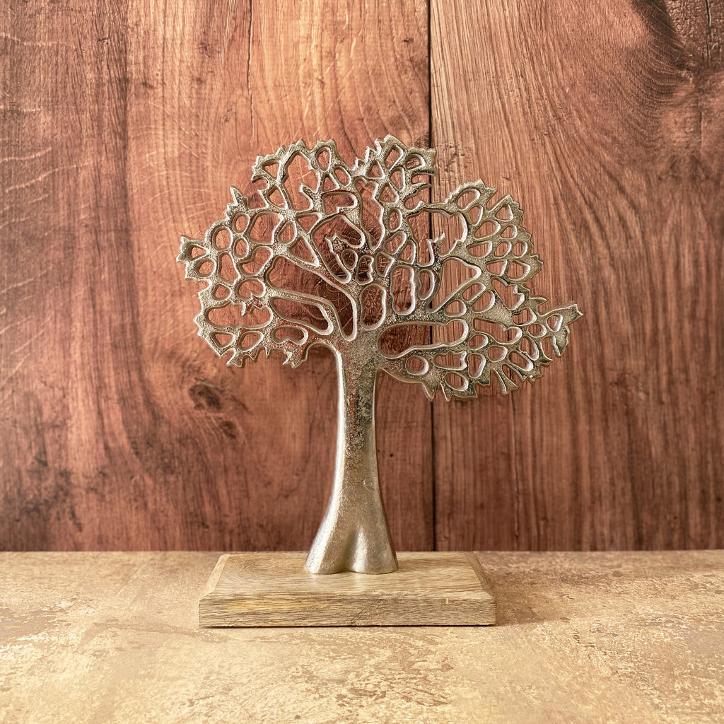 Small Tree Of Life on Wood Base