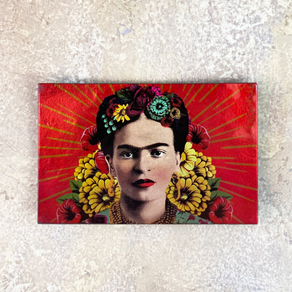 Frida Kahlo Large Glass Dish