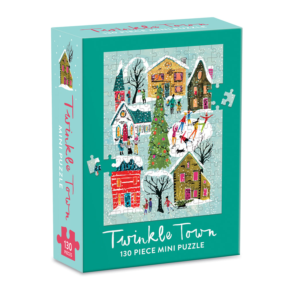Twinkle Town Mini Galison Puzzle