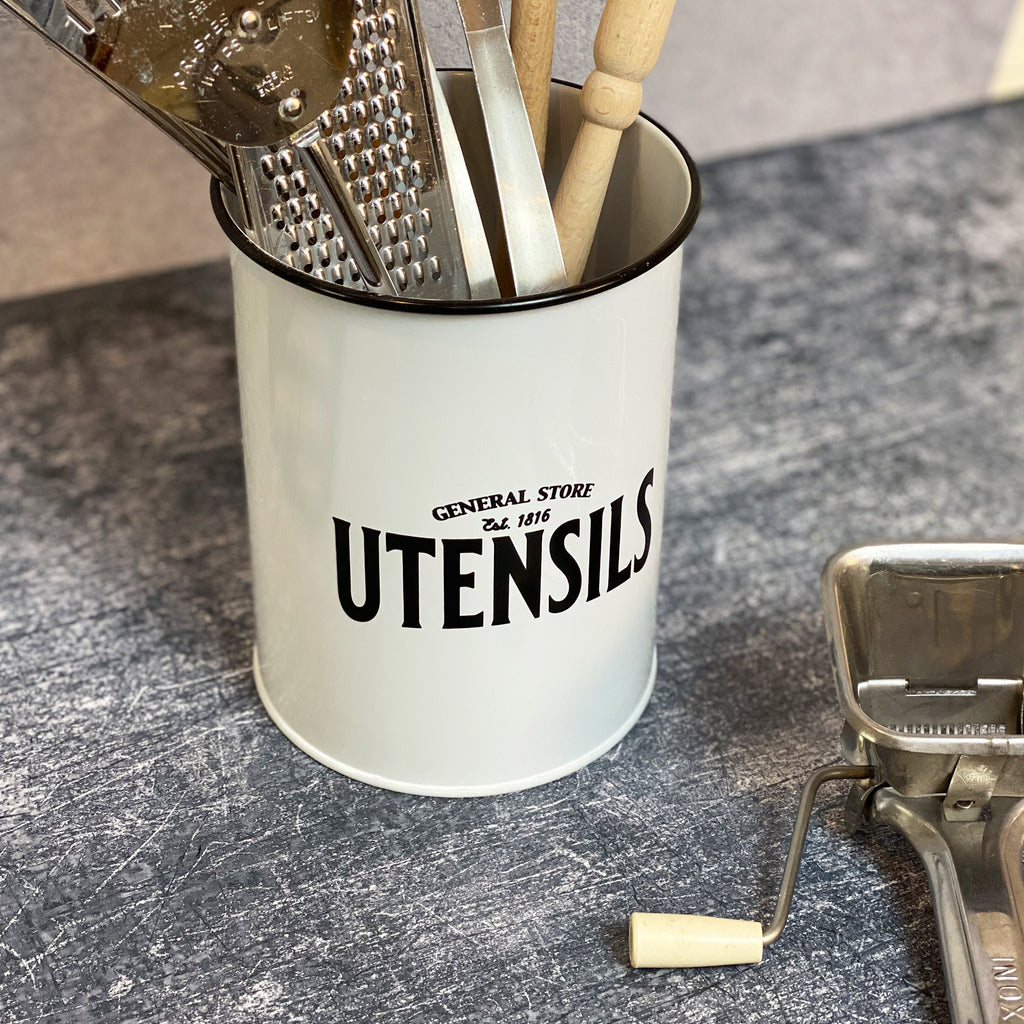 Enamel Untensil Holder