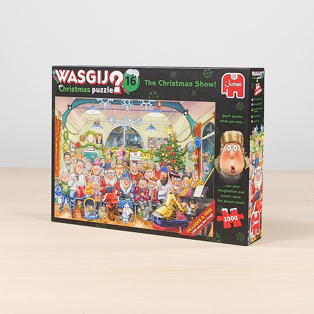 Wasgij Christmas 16 - The Christmas Show 2 X 1000 piece puzzle