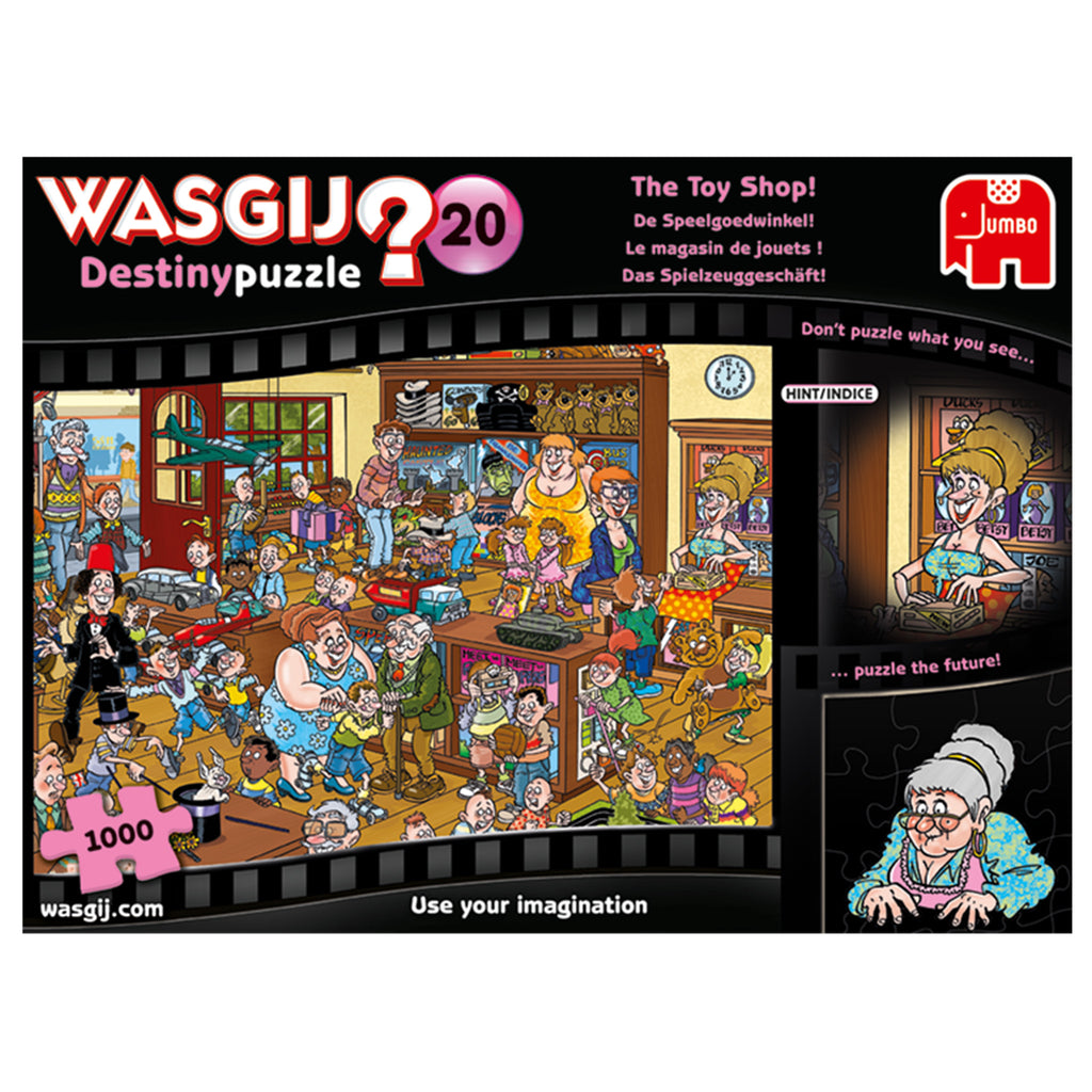 Wasgij Destiny 1000 Puzzle - The Toy Shop
