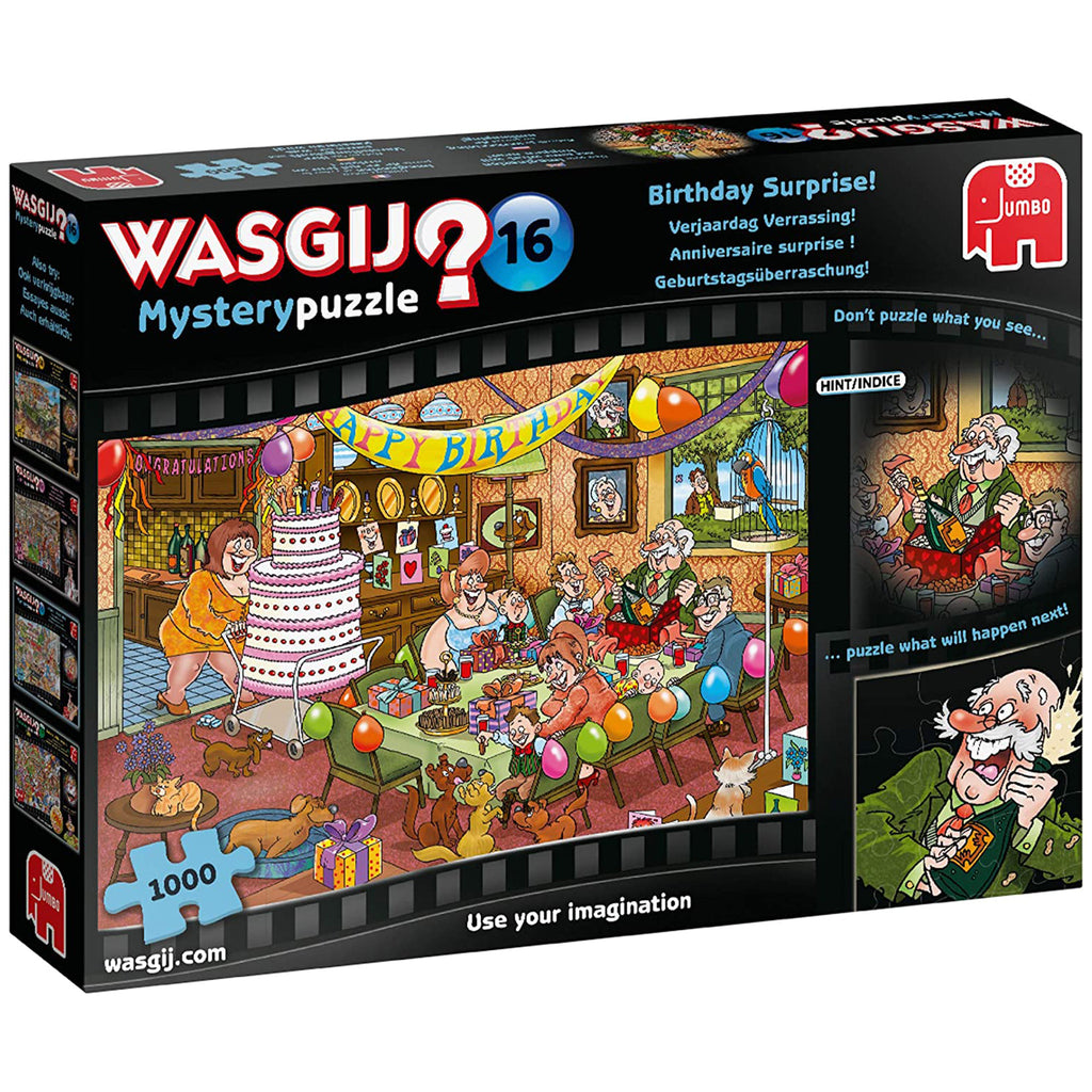 Wasgij Mystery 16 Birthday Surprise! 1000 Piece Puzzle