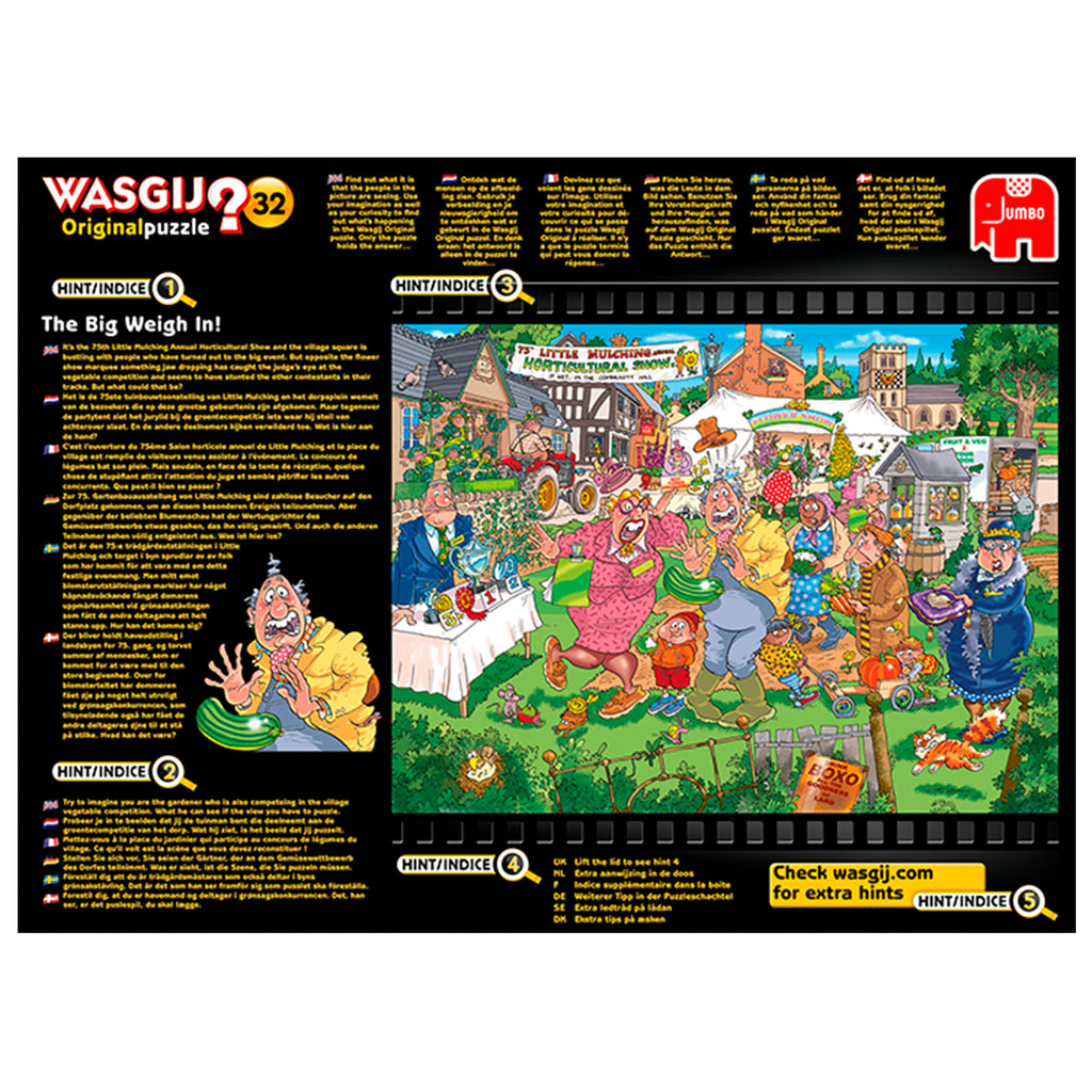 Wasgij Original 1000 Puzzle - The Big Weigh In