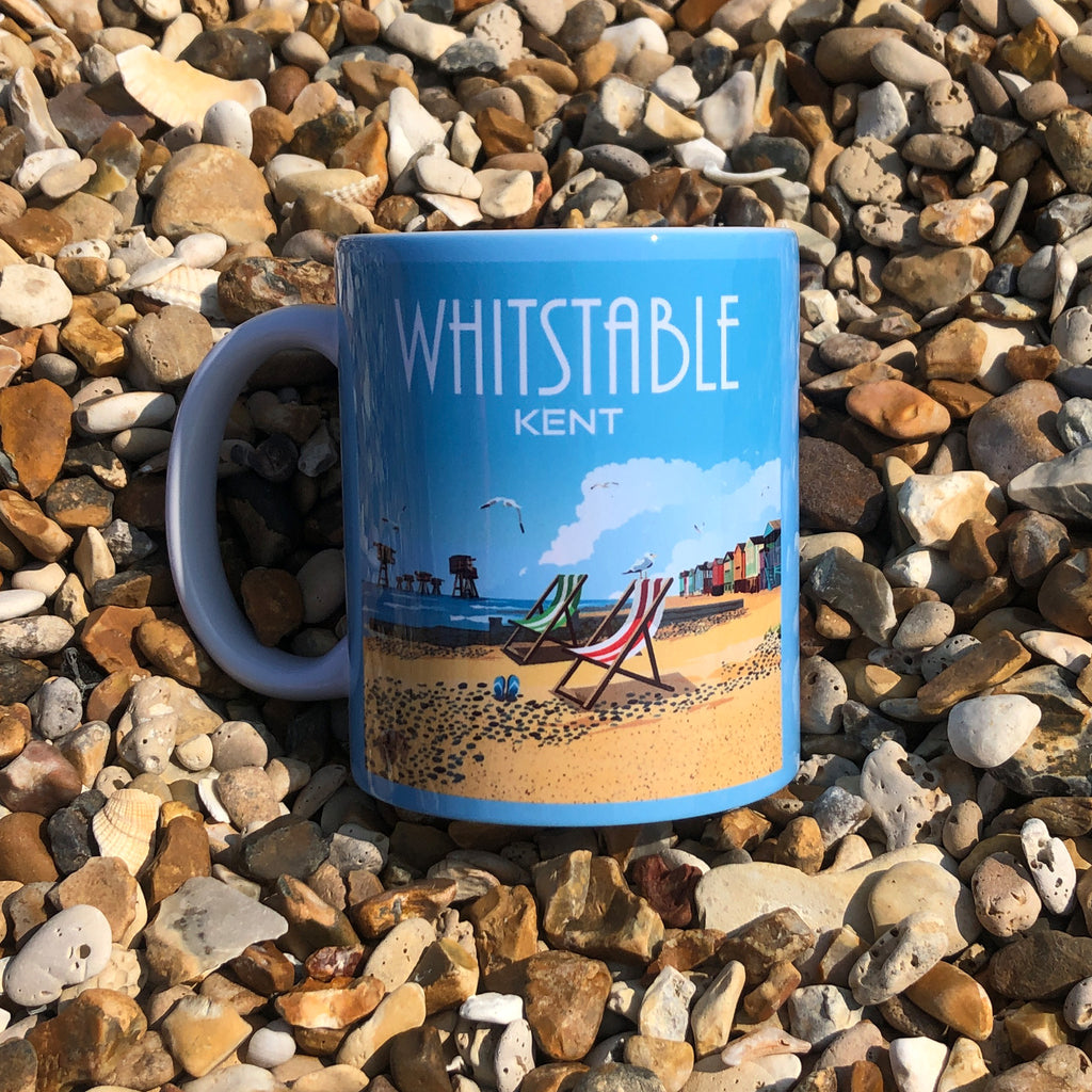 Retro Whitstable Mug