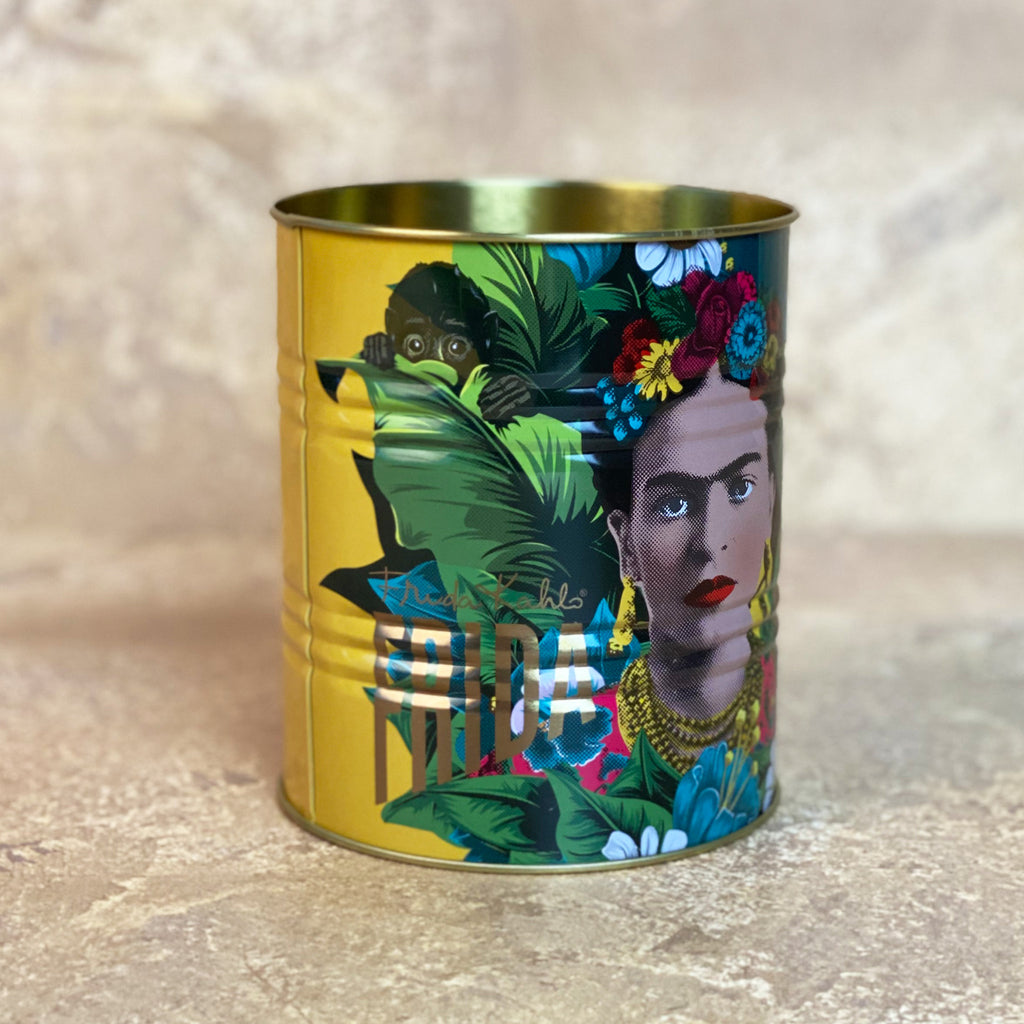 Frida Kahlo Red & Yellow Storage Tin Set