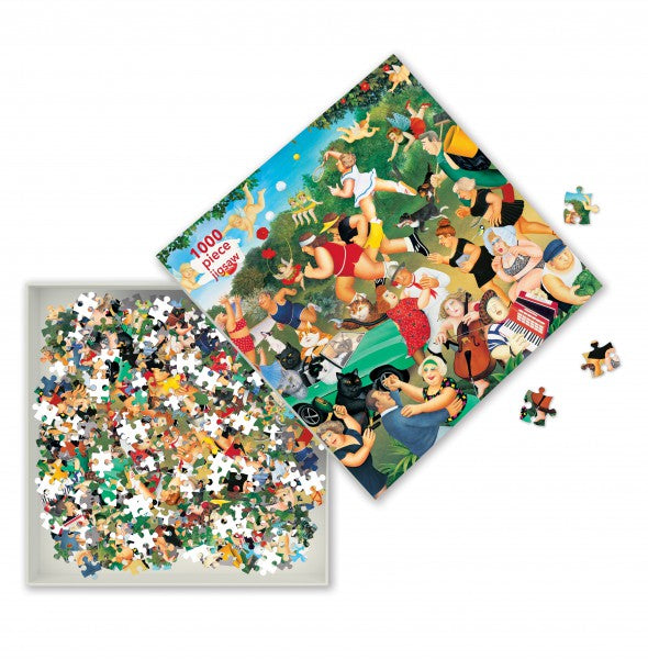 Good Times, Beryl Cook - 1000 Piece Jigsaw