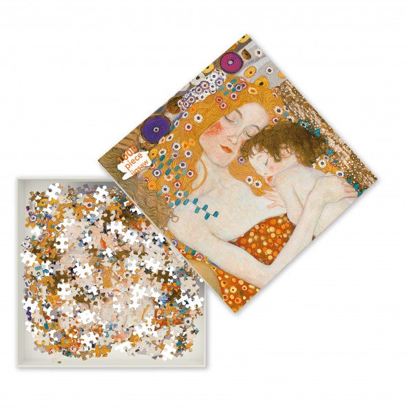 Three Ages of Woman, Gustav Klimt - 1000 Piece Puzzle