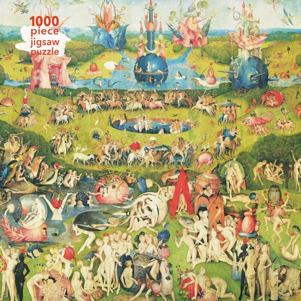 The Garden of Earthly Delights, Hieronymus Bosch 1000 Piece Puzzle